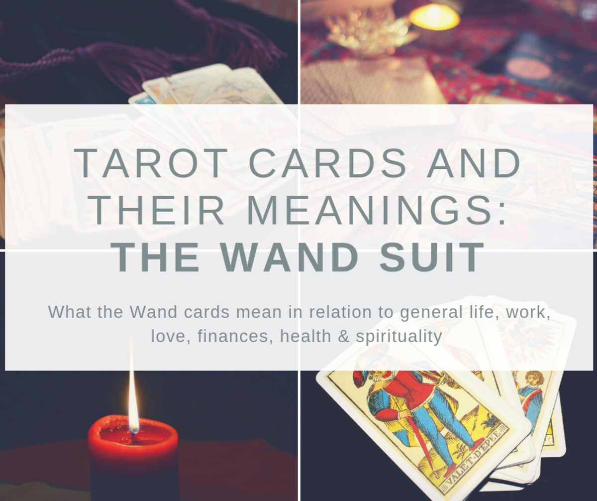 Tarot Cards and Their Meanings: The Wand Suit