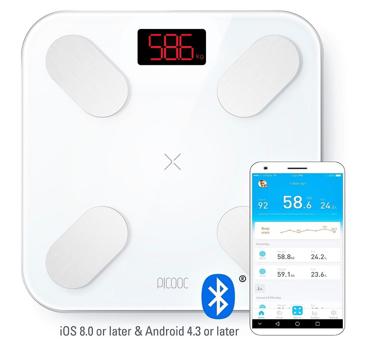 Review of Picooc Smart Body Fat Scale