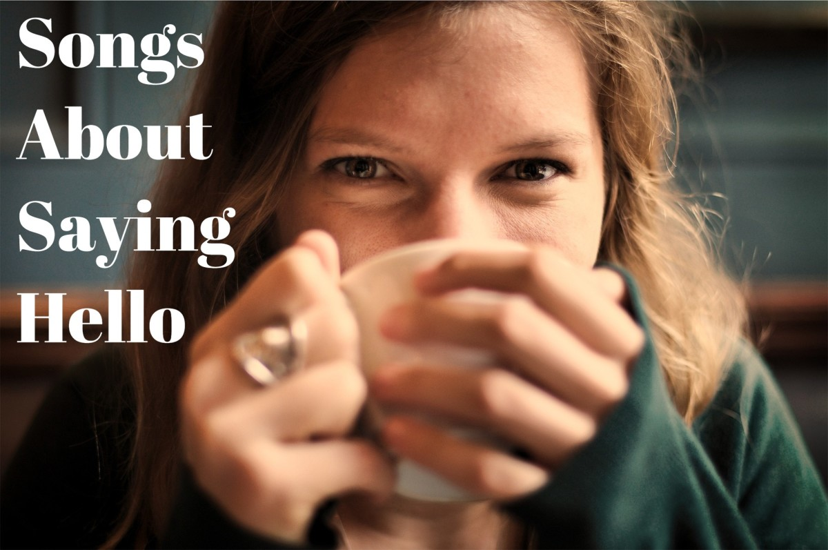 """Greetings such as """"hello,"""" """"hi,"""" and """"hey, there"""" can be powerful connectors. Resolve to change someone's day for the positive by acknowledging them.  Then make a playlist about pop, rock, country, hip-hop, and R&B """"hello"""" songs."""