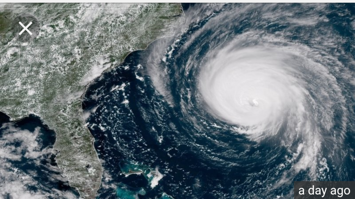 Hurricane Florence,luckily going to miss my area, we will just have a couple rainy days.