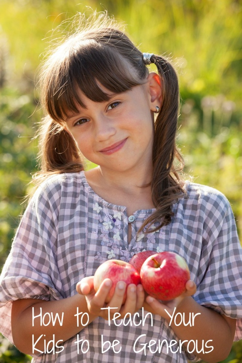How to Teach Your Kids to Be Generous