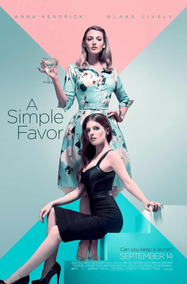 "Movie Review: ""A Simple Favor"""