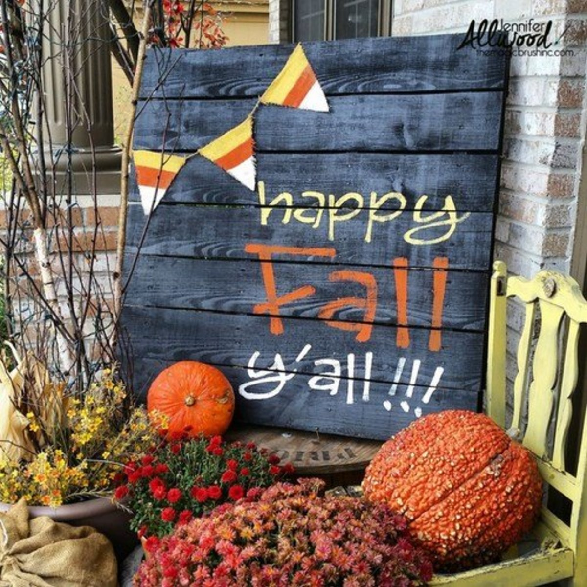 34 Gorgeous Fall Craft Ideas