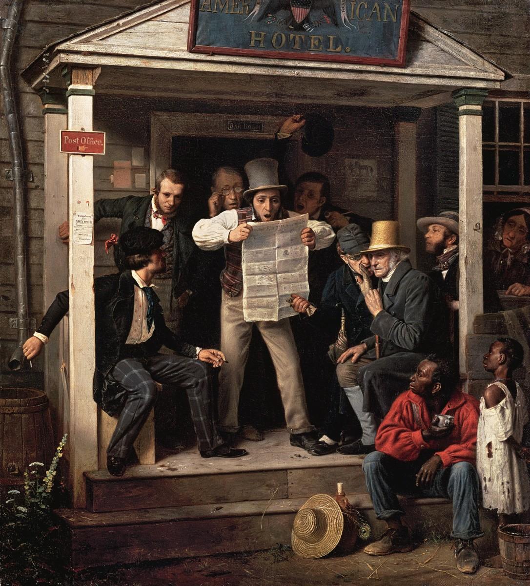Siege of Vicksburg: The Newspaper Printed on Wallpaper