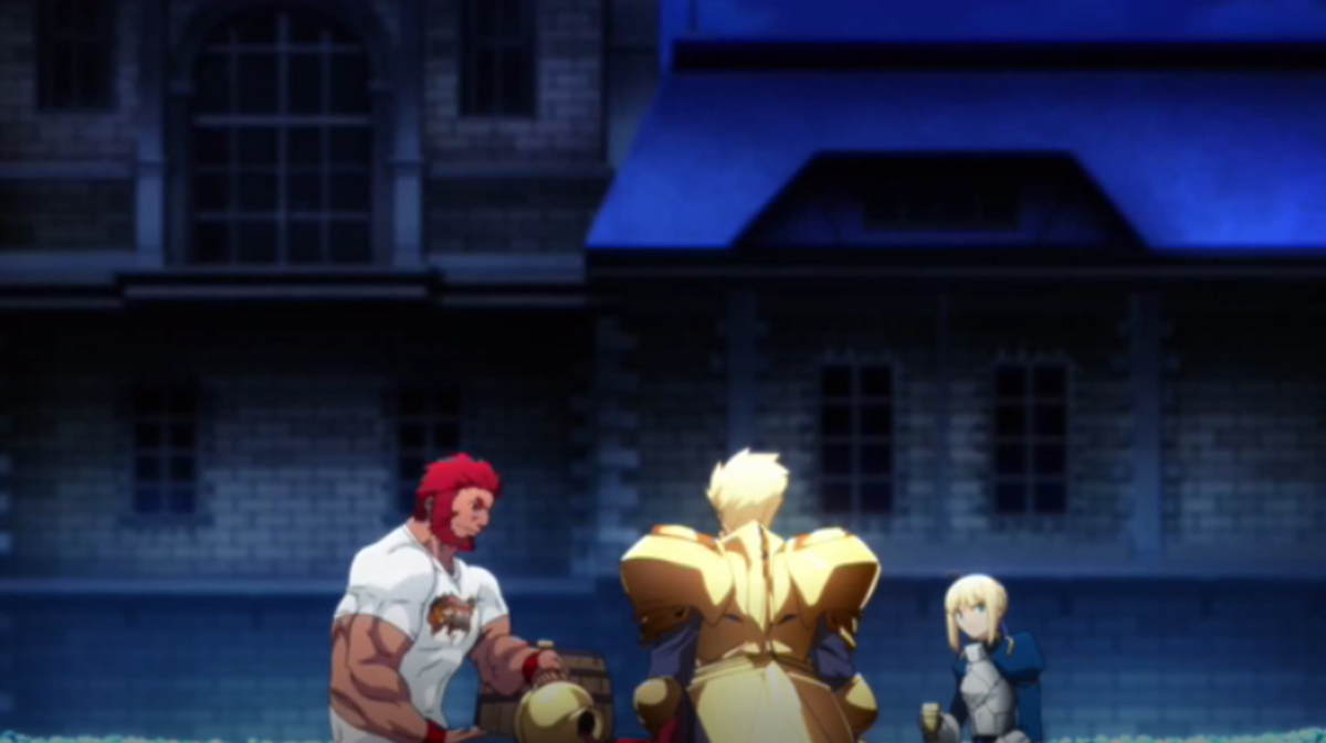 The King's Banquet in Fate/Zero