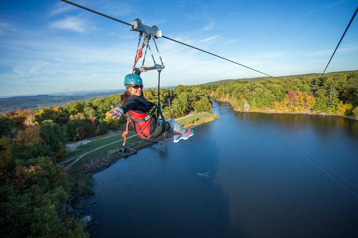 Ziplining in New Jersey at Mountain Creek: A Great Family Outing