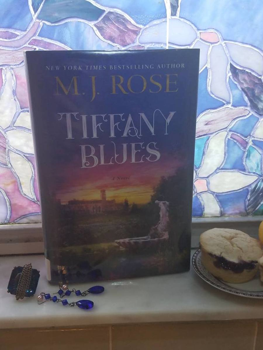 Tiffany Blues: Book Discussion and Blueberry Jam and Lemon Muffins Recipe