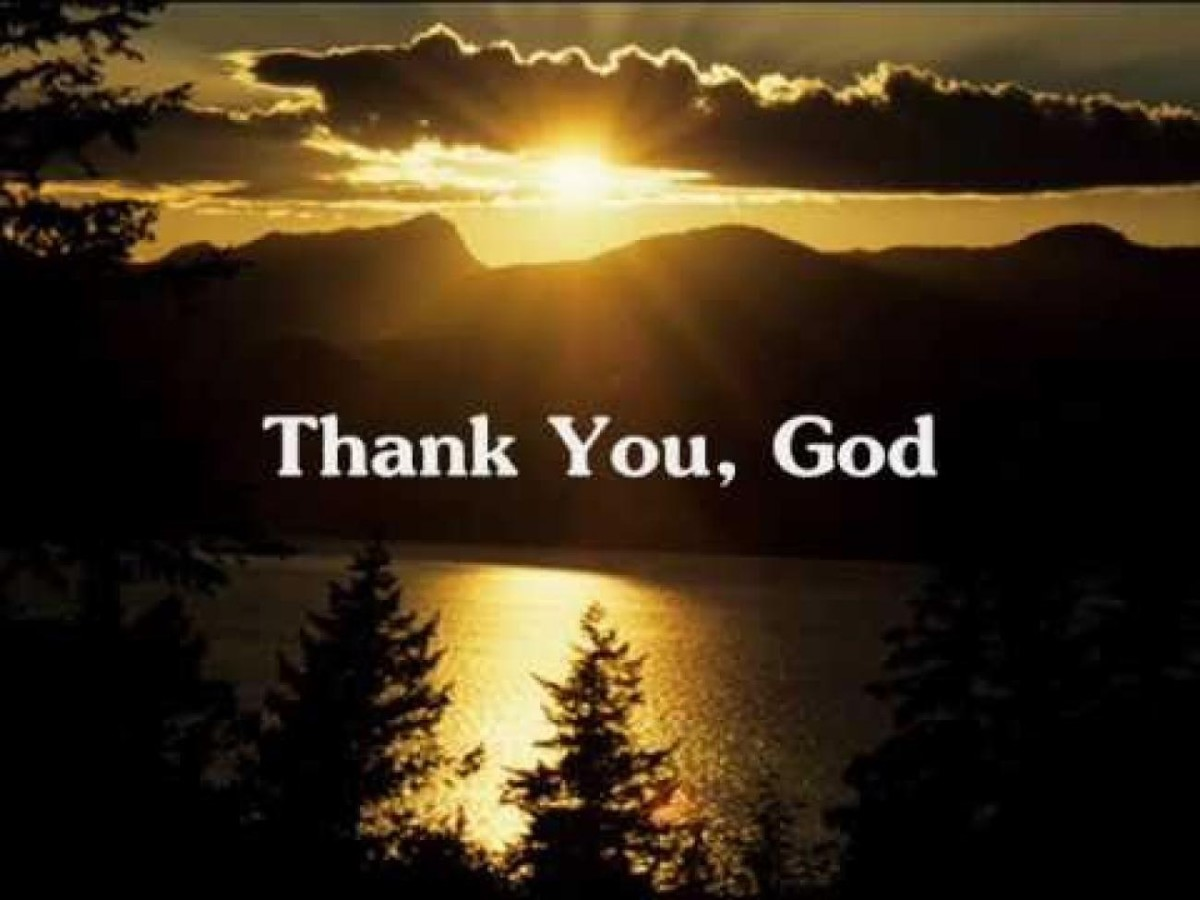 A Thank To God