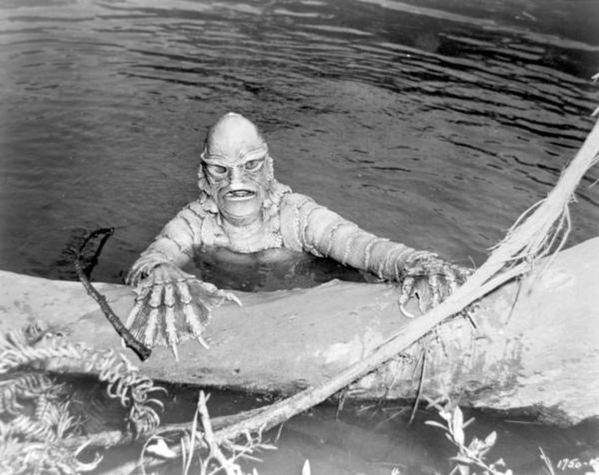 The classic Creature From The Black Lagoon.