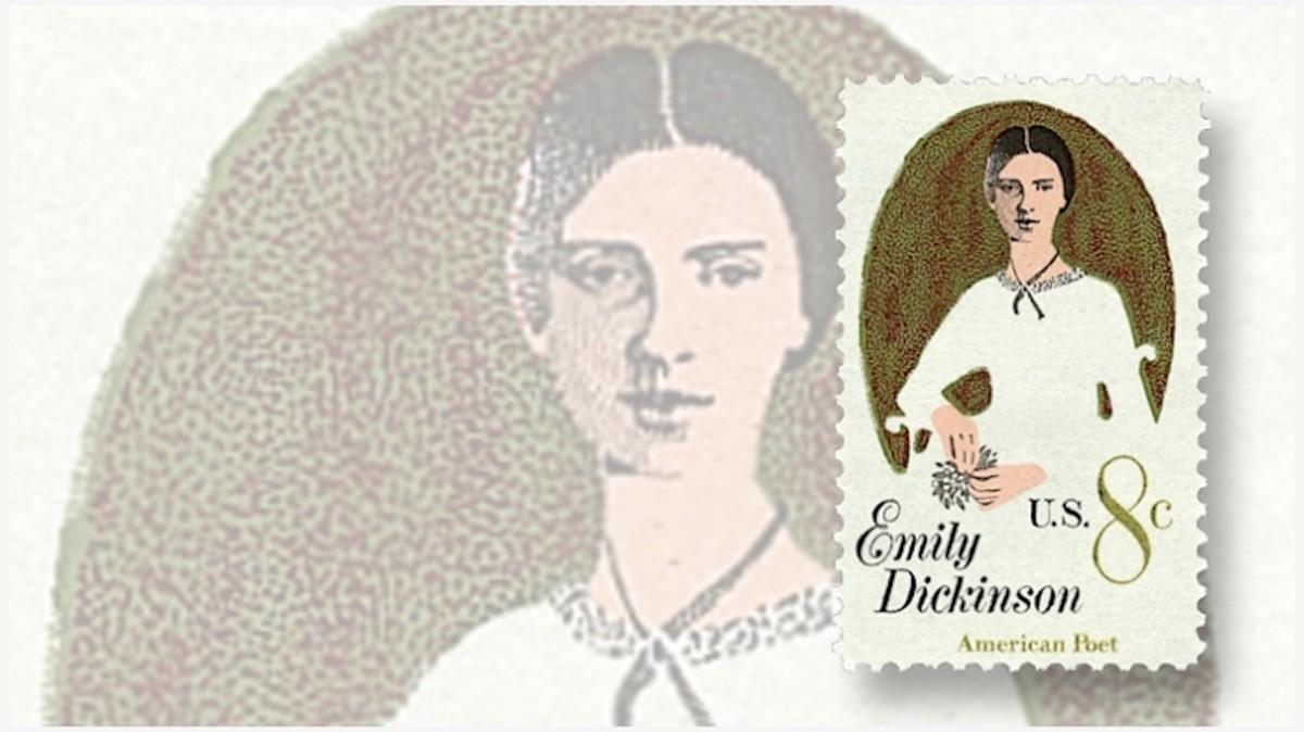 Emily Dickinson Commemorative Stamp