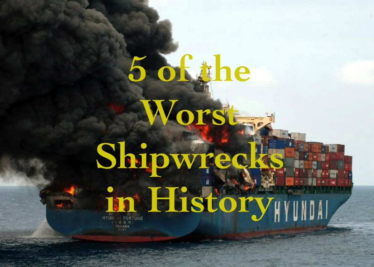 This article details 5 of the worst shipwrecks in history