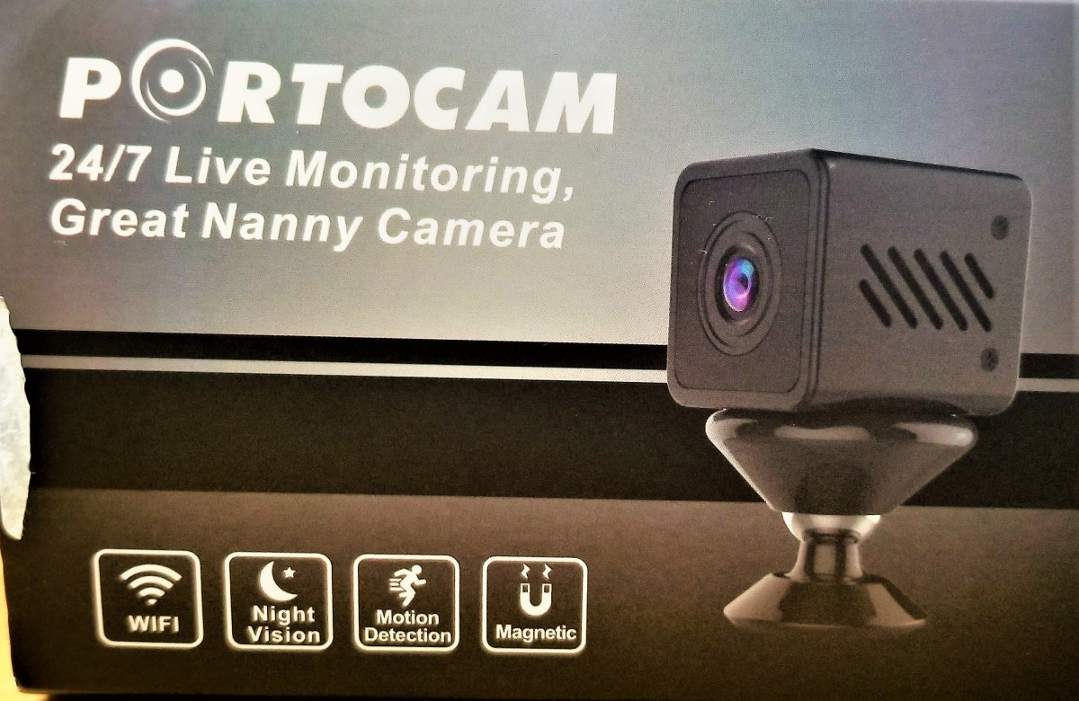 Review of Portocam HD Mini Security Camera