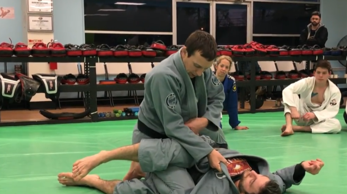 How to Leg Drag Guard Pass