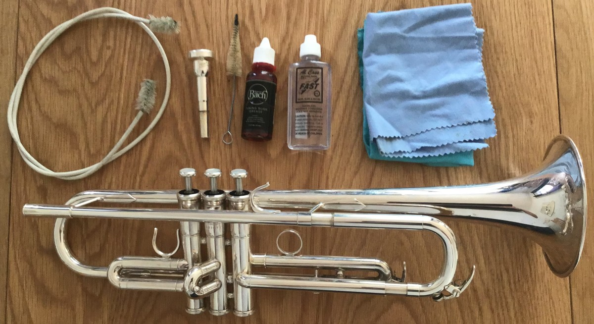 How to Clean Your Trumpet or Cornet