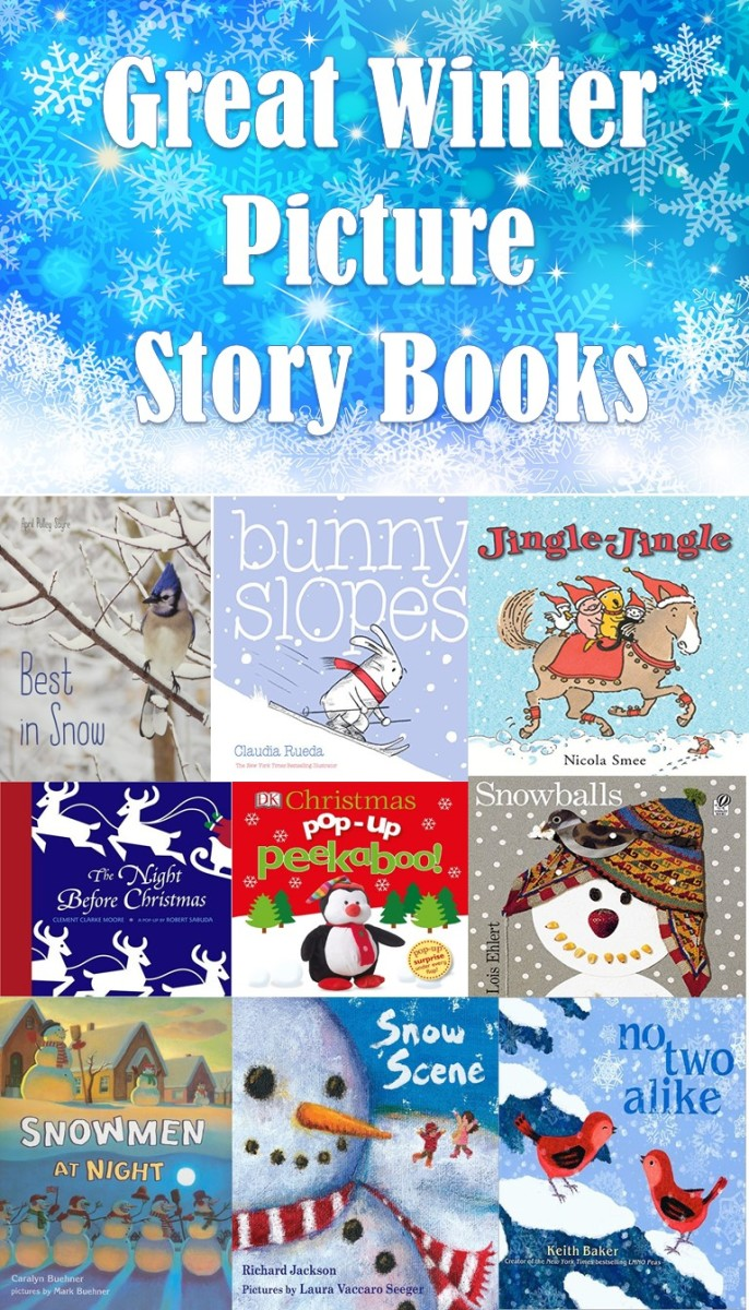 12 Great Winter Picture Storybooks to Get as Gifts for Your Kids and Grandkids