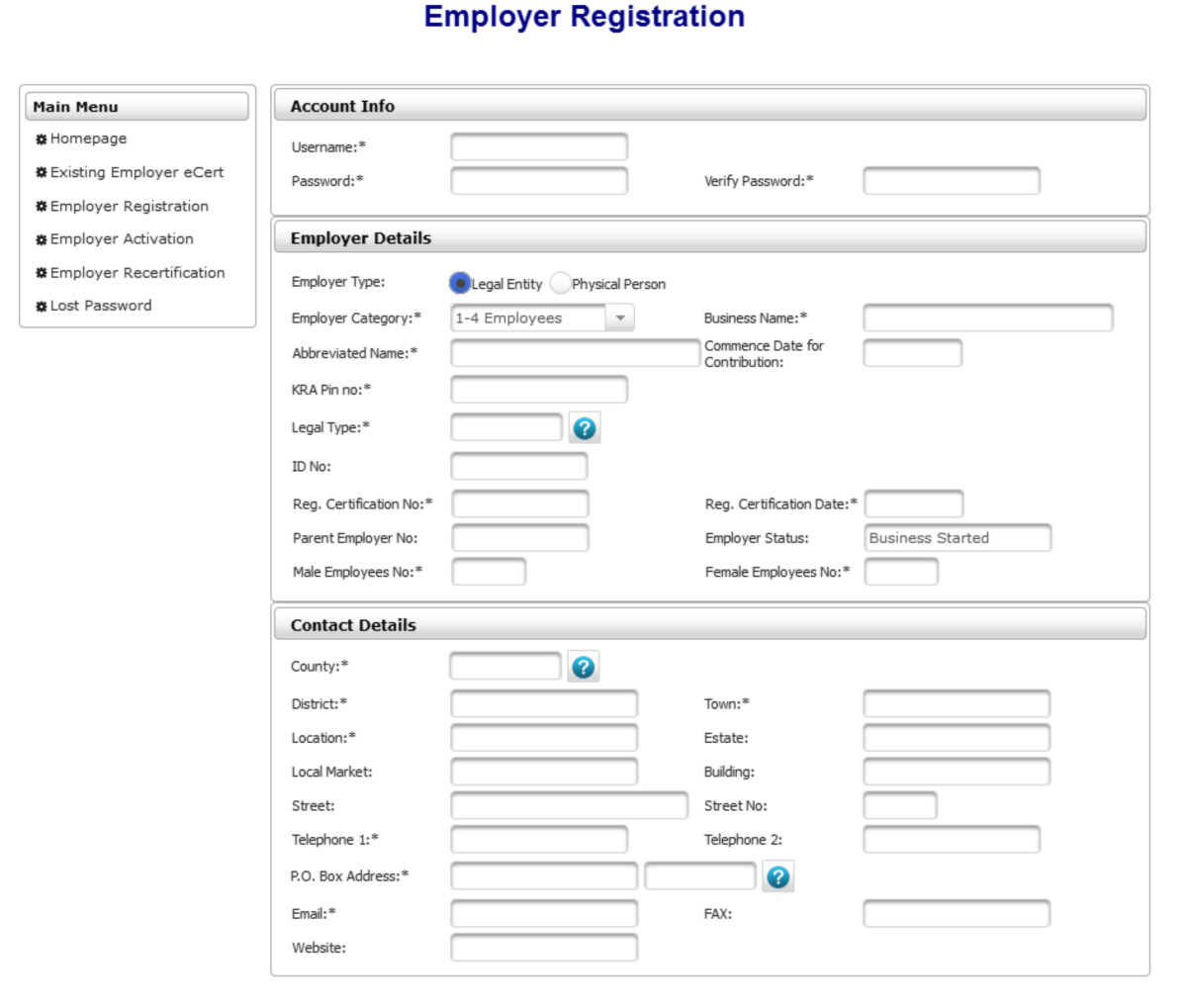 How to Prepare an NSSF Payment Slip for an Employer