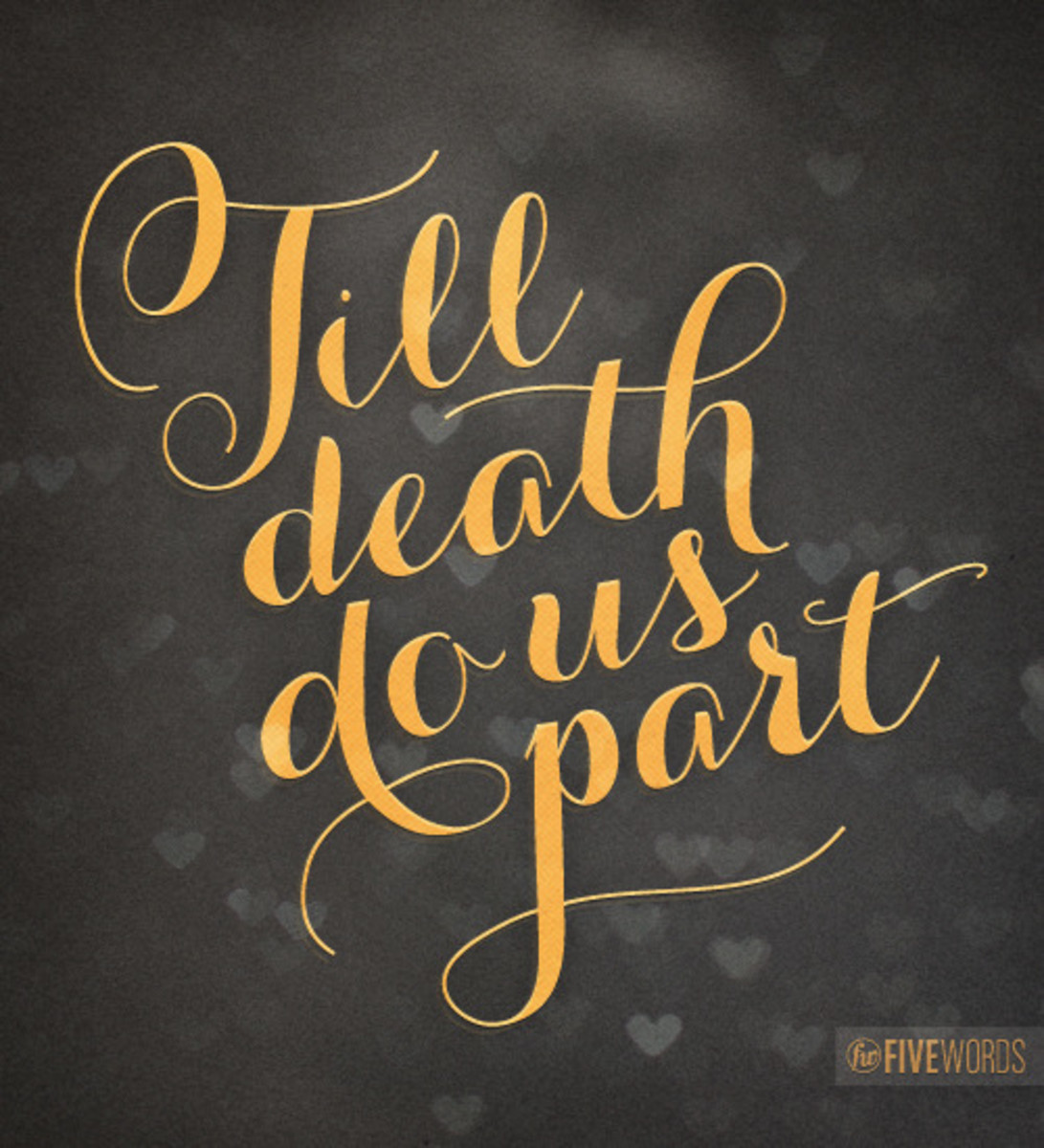 Till Death Do Us Part; A Story of Mystery and Intrigue Part 6