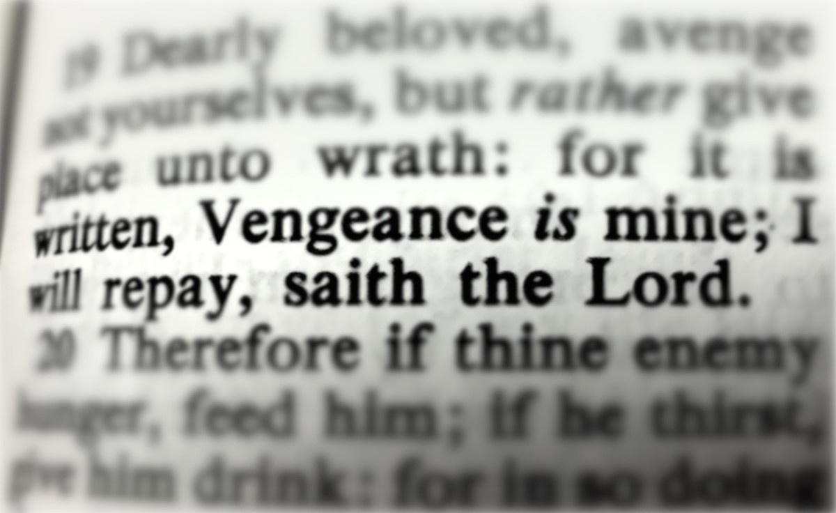 What the Bible Says About Revenge