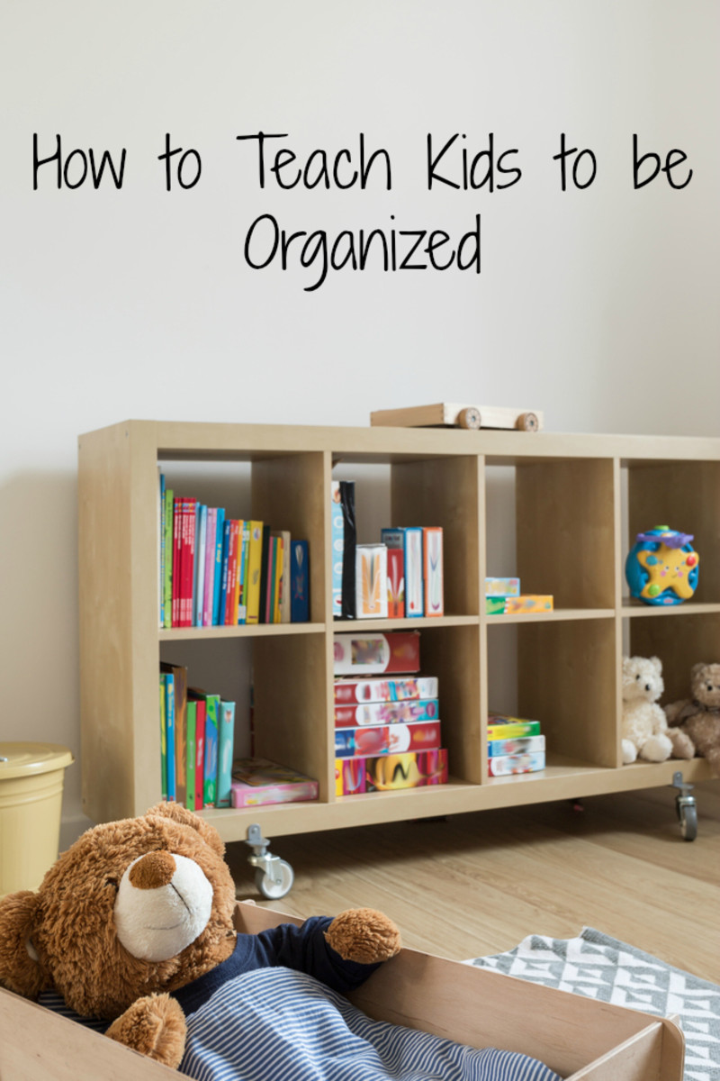 5 Tips to Teach Your Kids to Be Organized