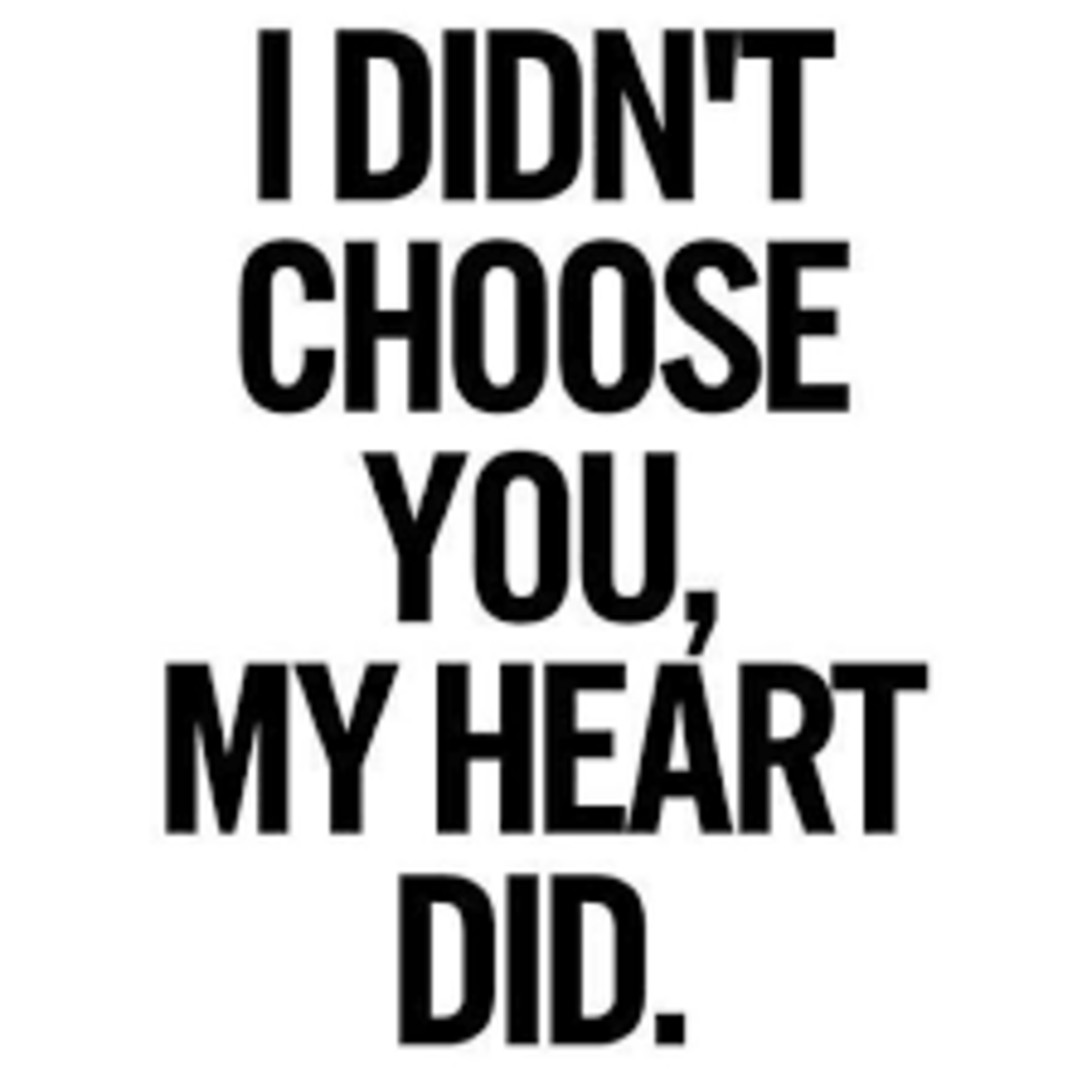 My Heart Chose You