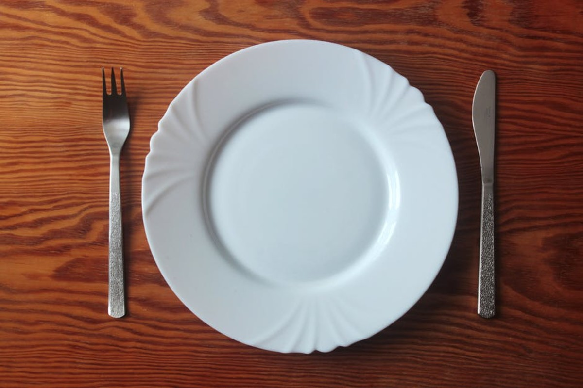 A typical breatharian meal.
