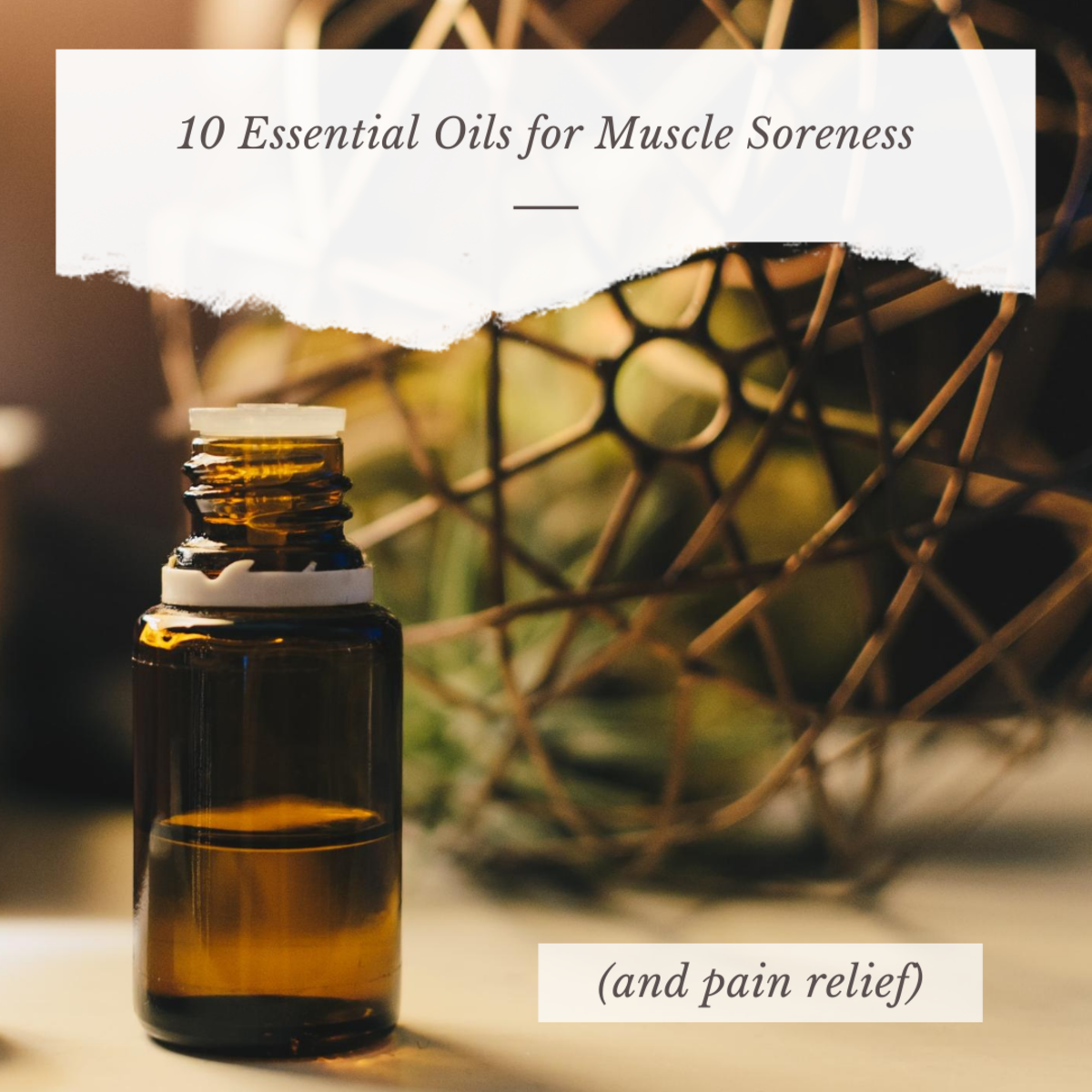 Oils for Muscle Soreness