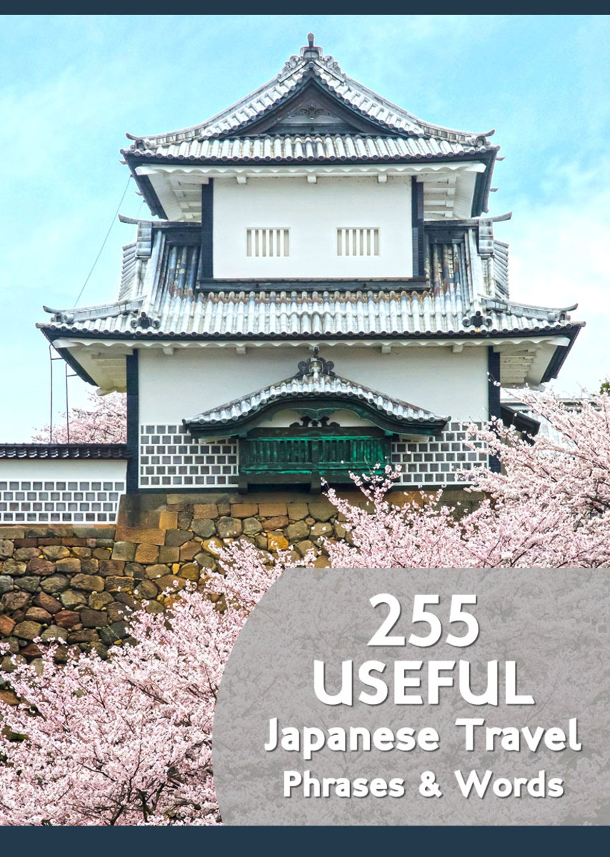 Japanese travel phrases and words to equip yourself with when visiting Japan.