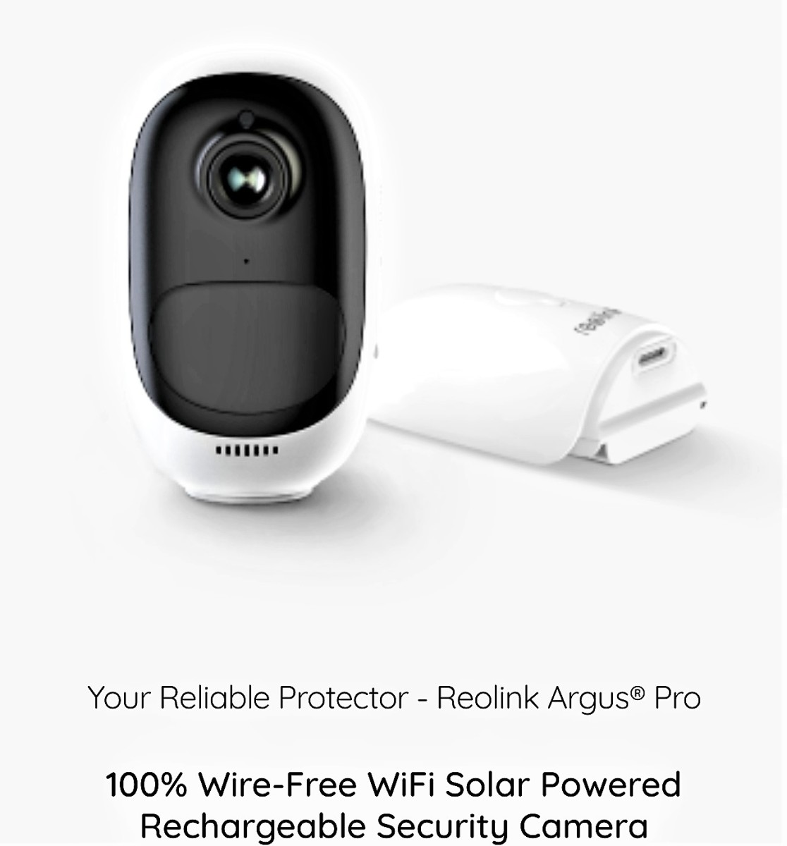 Review of Reolink Argus Pro Security Camera (100% Wireless & Rechargeable)
