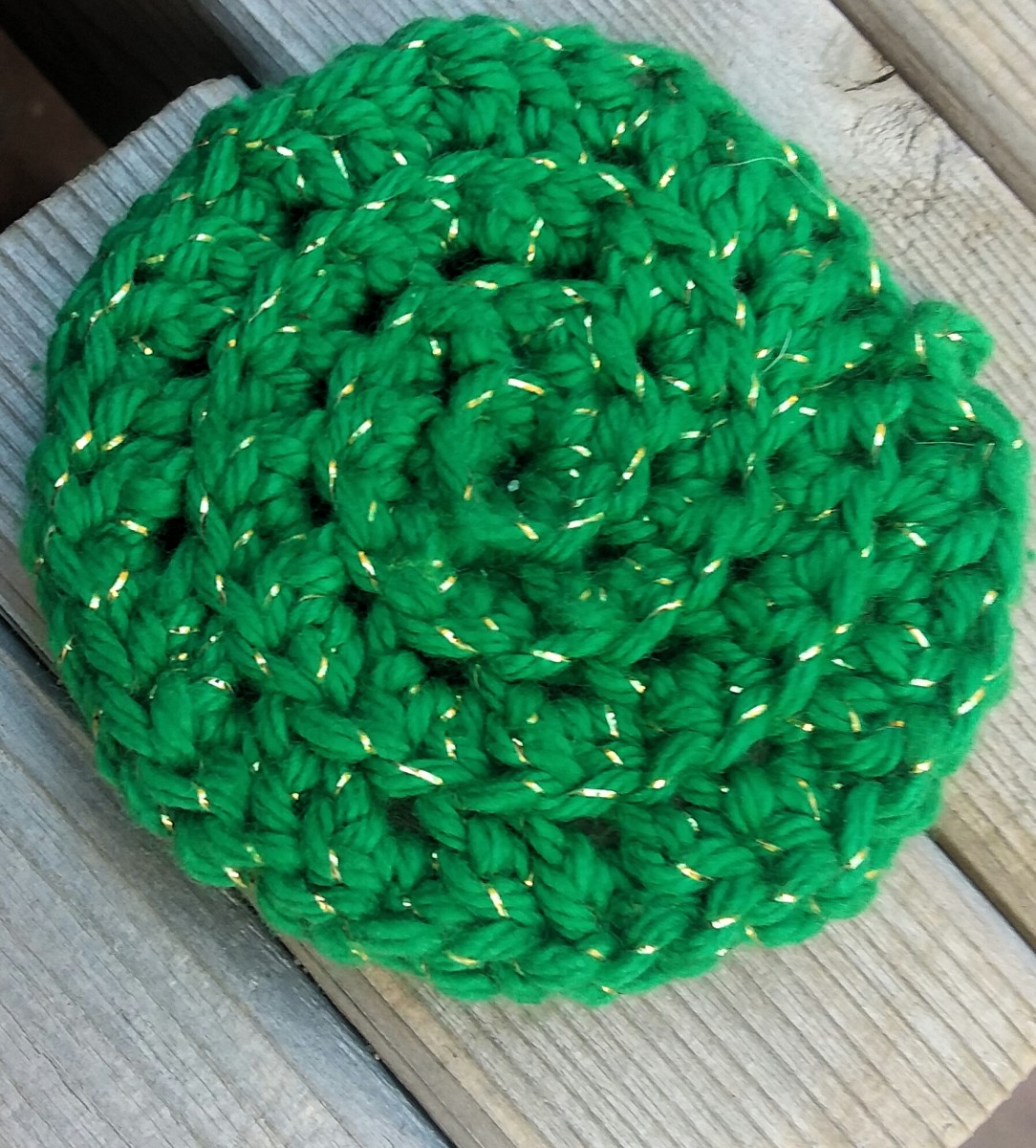 Ribbed Crochet Face Scrubbies