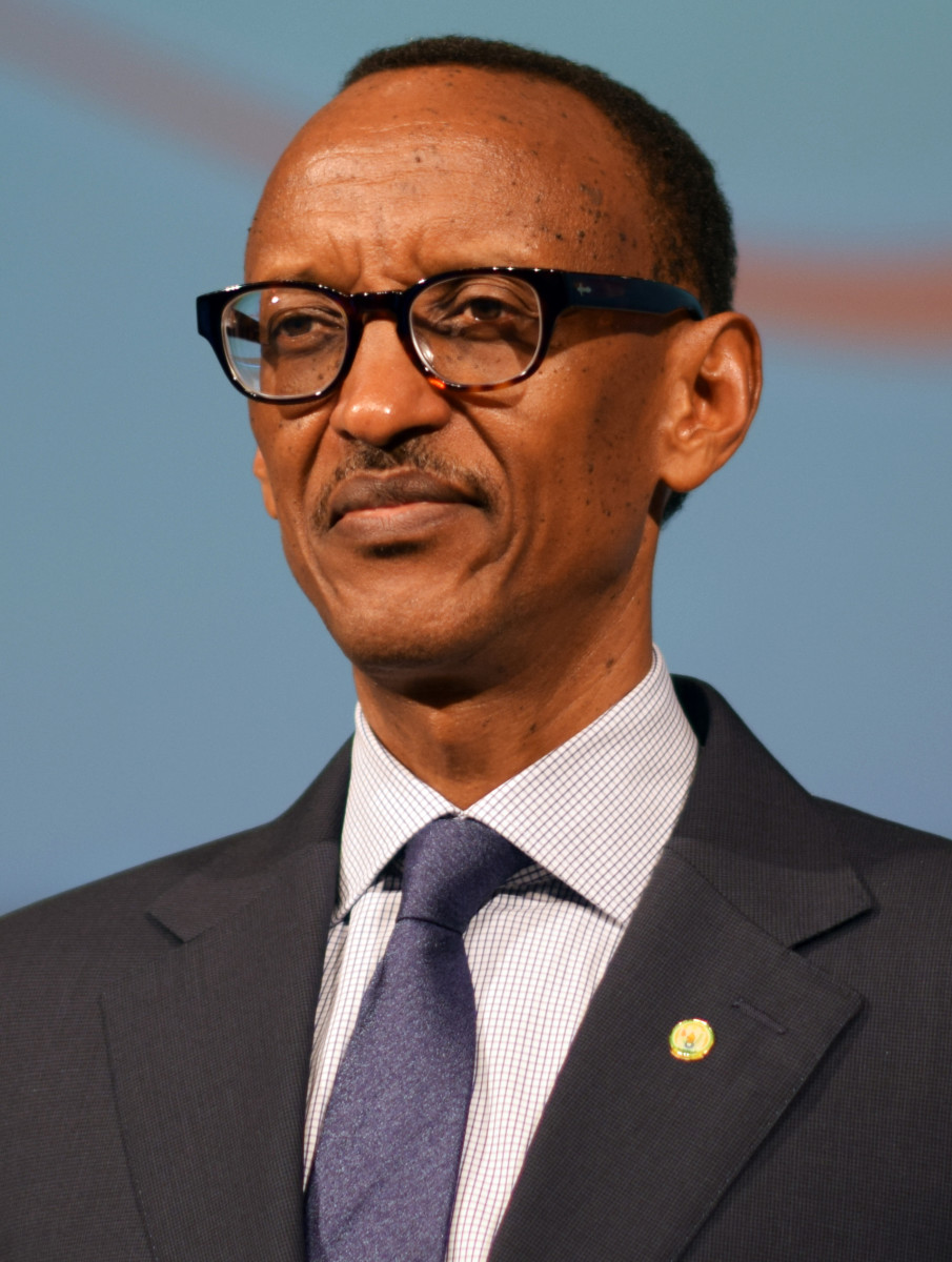 Paul Kagame, the leader of the RPF during the genocide