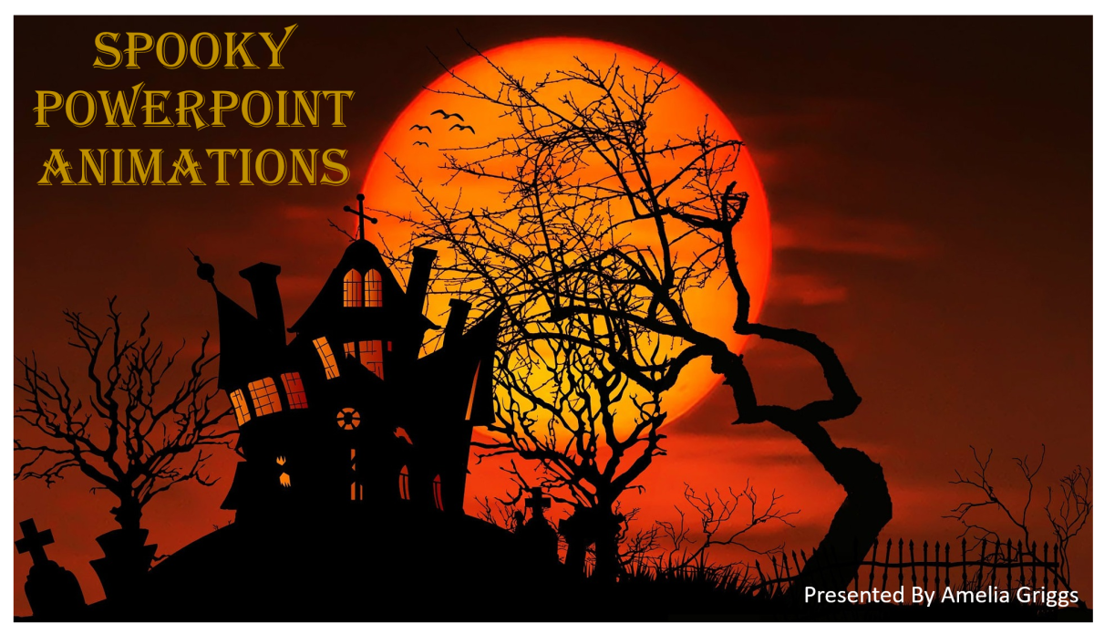 Spooky Haunted House PowerPoint Animation Ideas | Holidappy