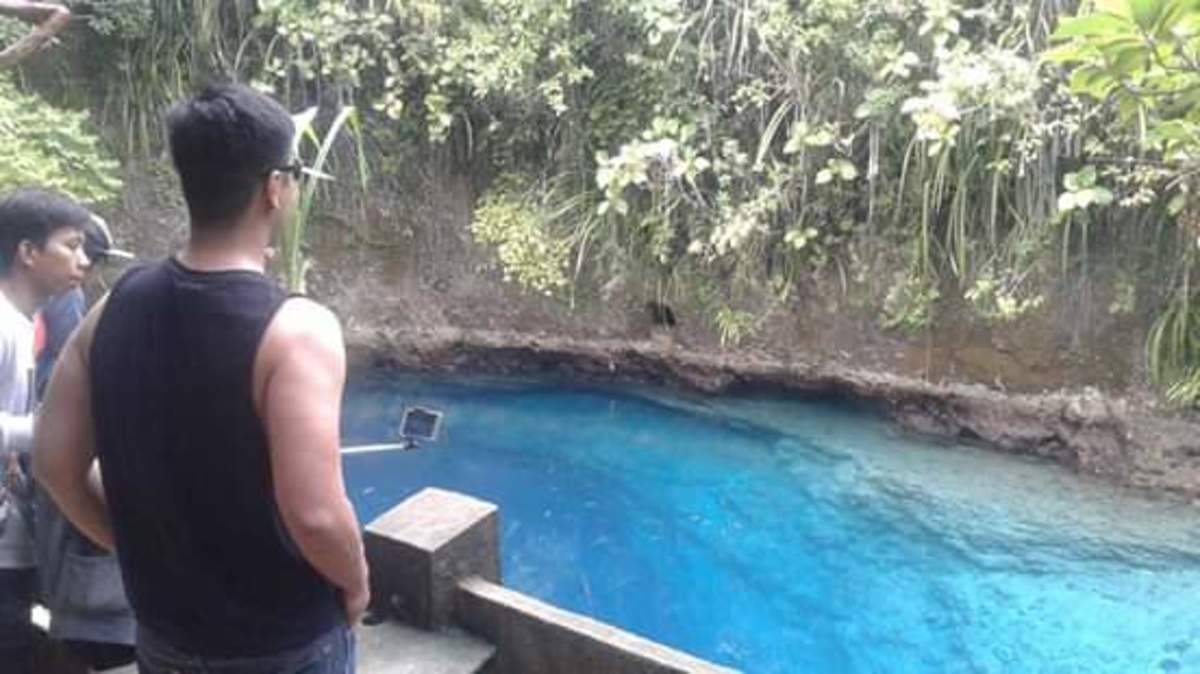 Haikus about the Enchanted River (A summer destination in the Philippines)