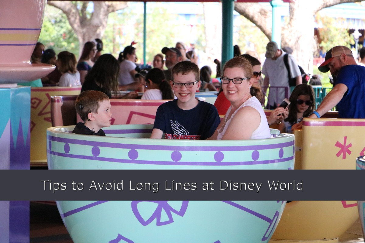 Preparation is crucial to avoiding long waits at Disney World. We used the extra magic hours to experience the rides before the park was open to the general public.