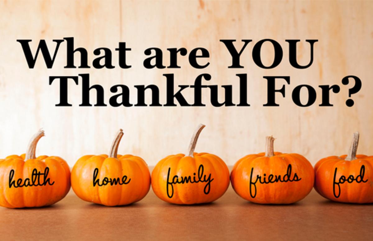 Instilling Thankfulness in Children