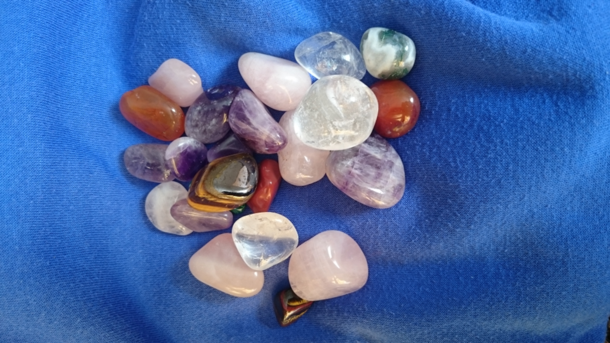 Healing crystals can be used in many forms of protection.