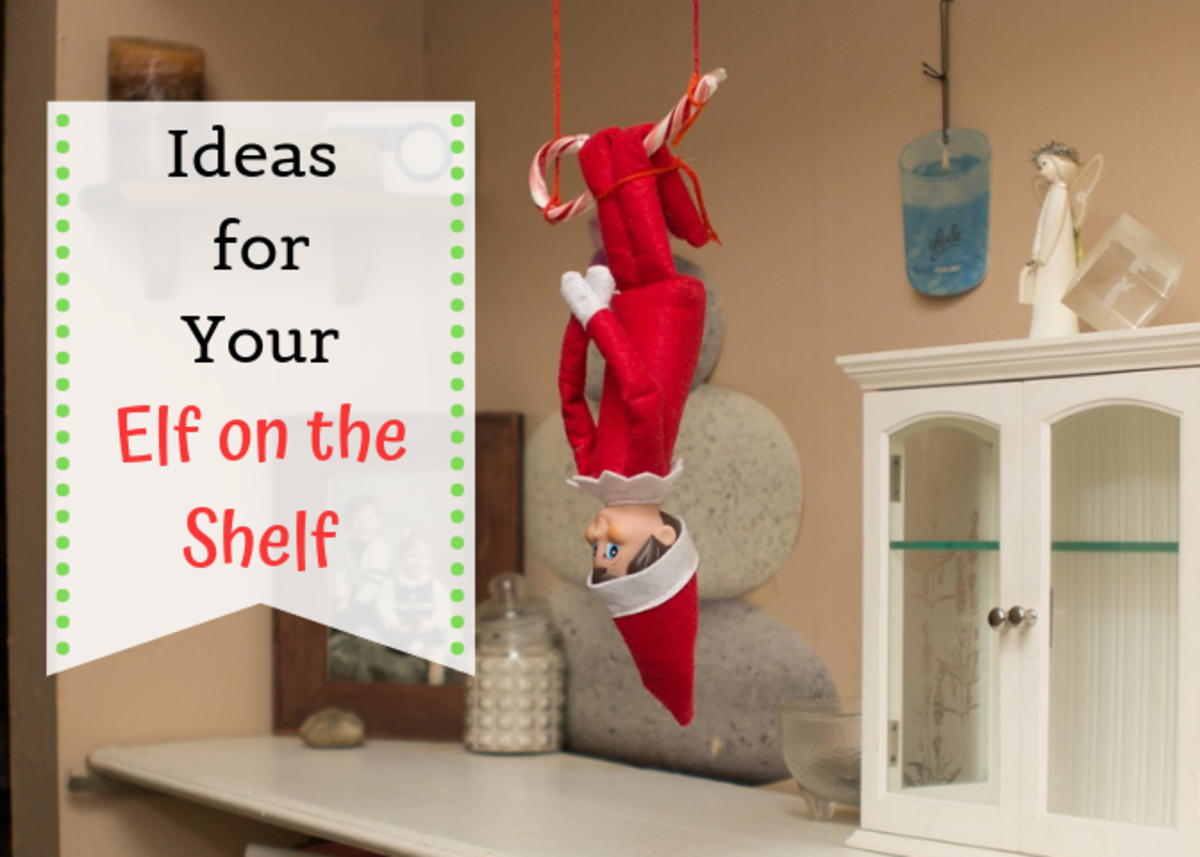 Get some easy, fun, and funny ideas for setting up your Elf on the Shelf this Christmas!