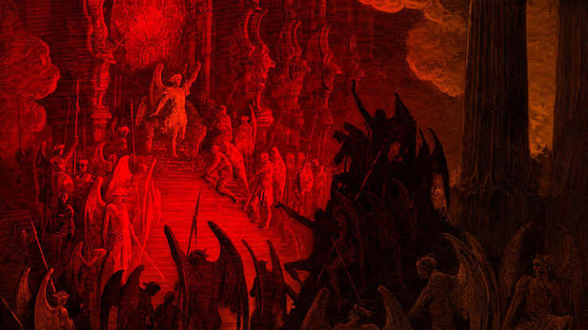 The Pandemonium - A Poem About Hell