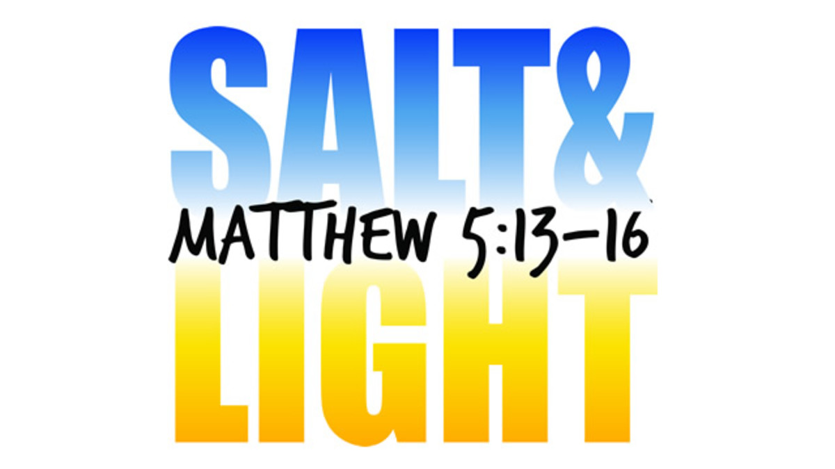 Be Good for Something: Salt and Light