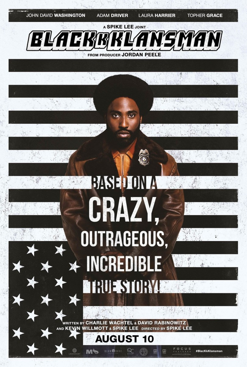 'BlacKkKlansman' Movie Review
