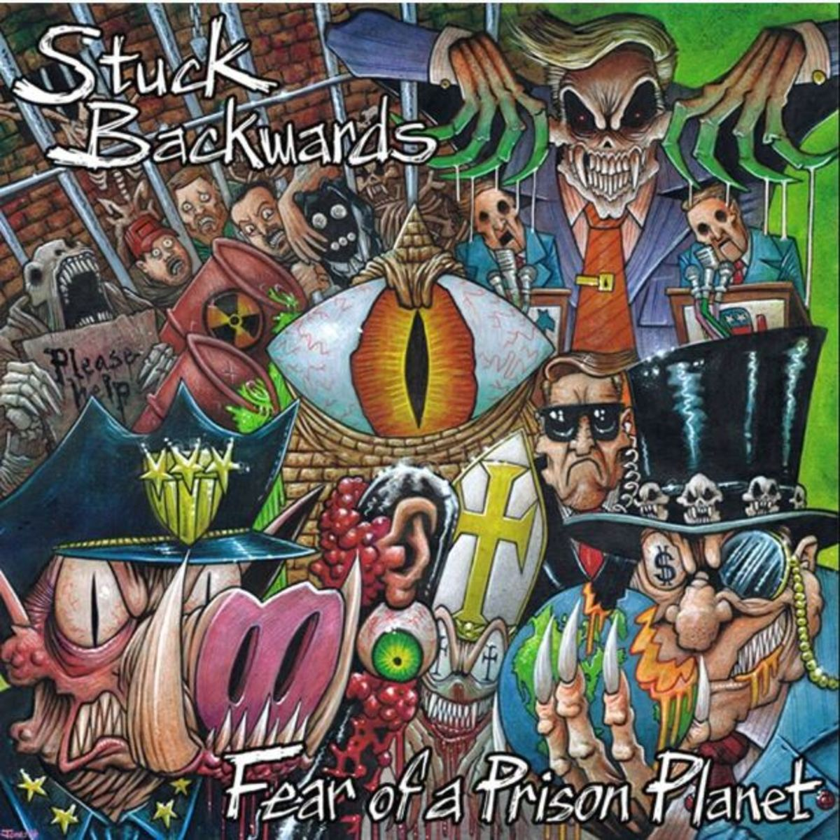 "Stuck Backwards, ""Fear of a Prison Planet"" Album Review"