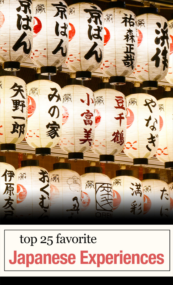 Japanese experiences that made me fell in love with Japan for life.