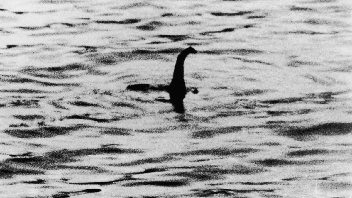 "original 1934 photo of ""Nessie"""