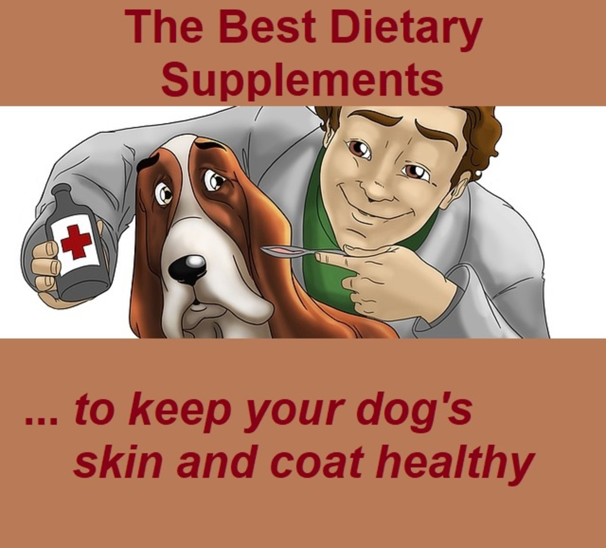 A healthy, balanced diet, water, and plenty of exercise are normally enough to keep your dog's skin and coat in peak condition. However, in some circumstances he may need an extra boost in the form of dietary supplements. Always ask a vet for advice