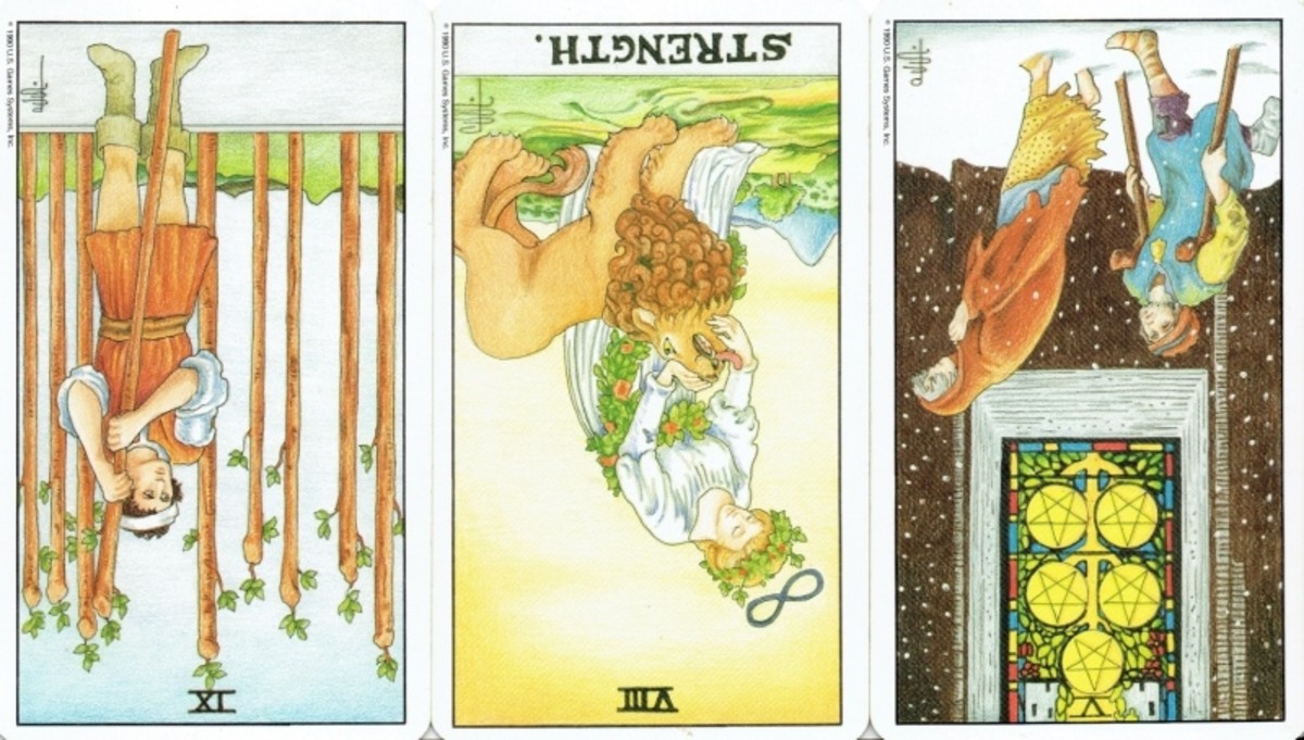 Tarot Reversals: Reference Guide to the Rider-Waite Cards