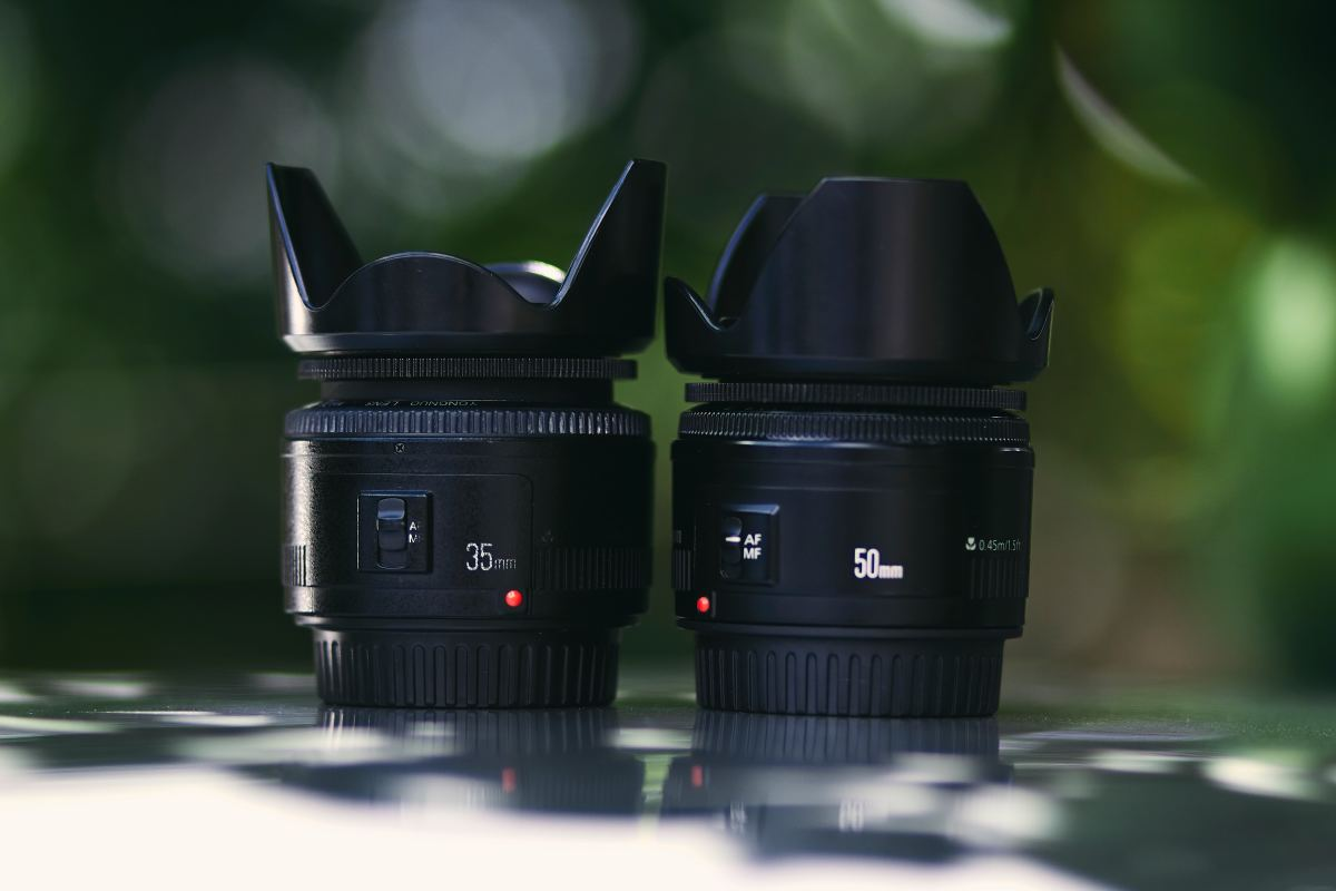 Canon 35mm vs 50mm for street photography.
