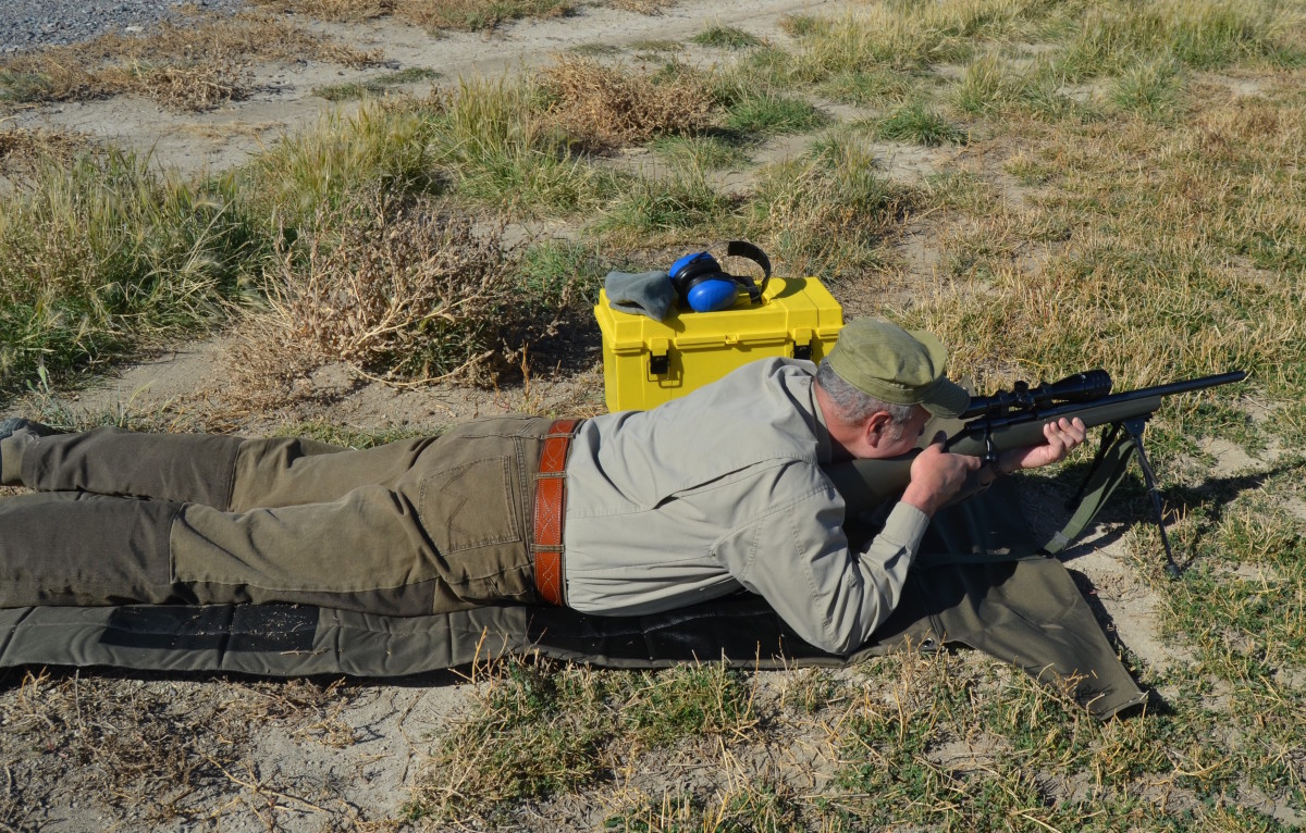 Varminting in the high desert with a Howa .223 Rem.