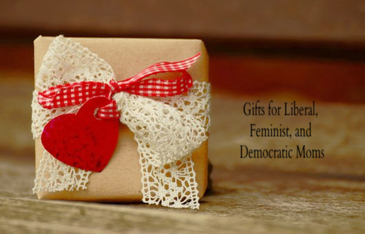 Great gifts for feminist, liberal, and Democratic moms.