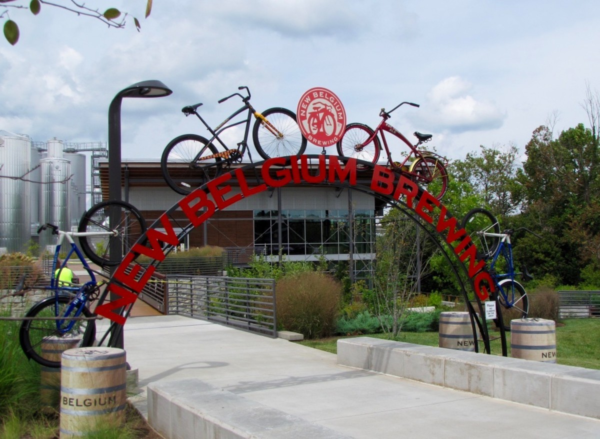 The New Belgium Brewery - Asheville's Best Brewery Tour
