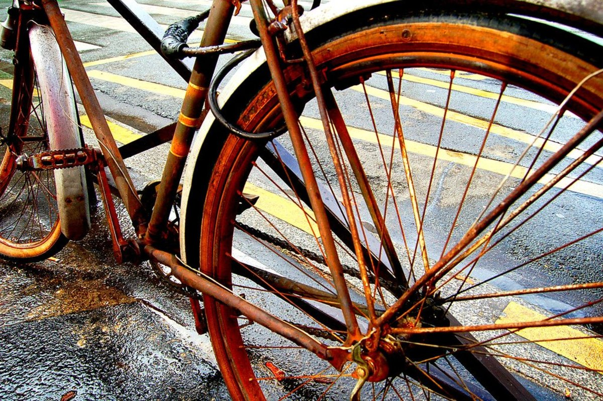 Three Easy Ways to Remove Rust From a Bicycle