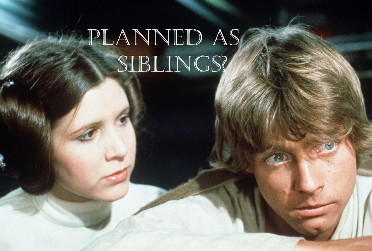 Leia and Luke in Episode 4